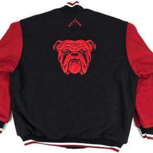 Vintage Red Dog Beer Varsity Letterman's Jacket XL